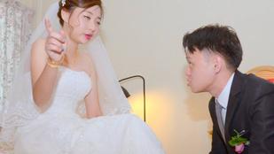 Röhejesen rosszak lettek ezek az esküvői fotók
