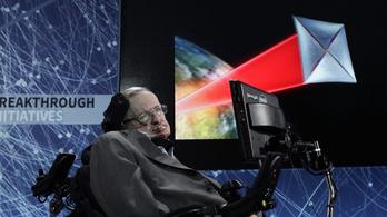 Stephen Hawking elárulta, mi a legjobb és a legrosszabb dolog