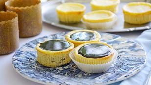 Pénteki süti: mini, pilótakekszes sajttorták