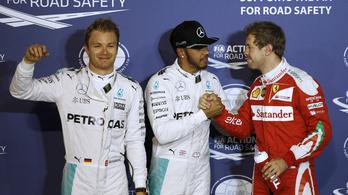 Rosbergnek könnyű versenye lesz. Fenéket!