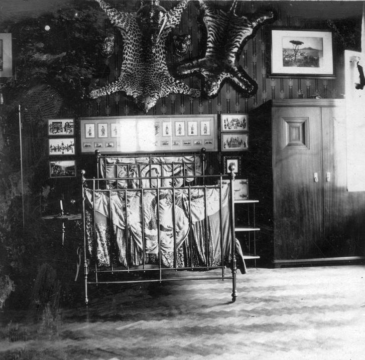 Egy igazán különleges hálószoba 1920-ból