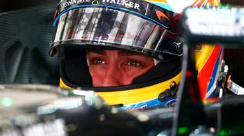 Megszenvedi a visszatérést Fernando Alonso