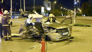 Brutális balesetben halt meg egy ember a Flórián téren