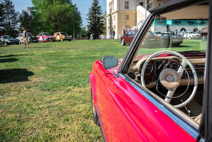 Paul Bracq megannyi csodás autót tervezett, de még közülük is kitűnik a Mercedes W113 Pagoda.