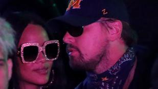 Rihanna és Leonardo DiCaprio együtt fesztiválozott