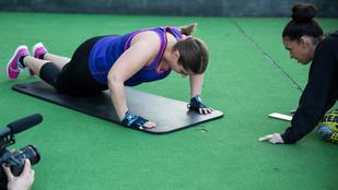 Szobafitnesz: Utálom a fekvőtámaszt