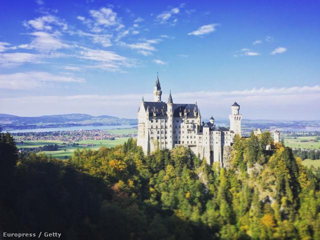 Neuschwanstein kastély, Németország