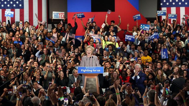 Trump és Clinton is tarolt hazai pályán New Yorkban