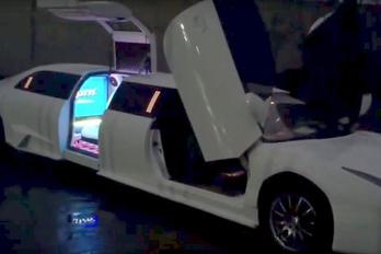Ukrajnában készült a Lamborghini limuzin