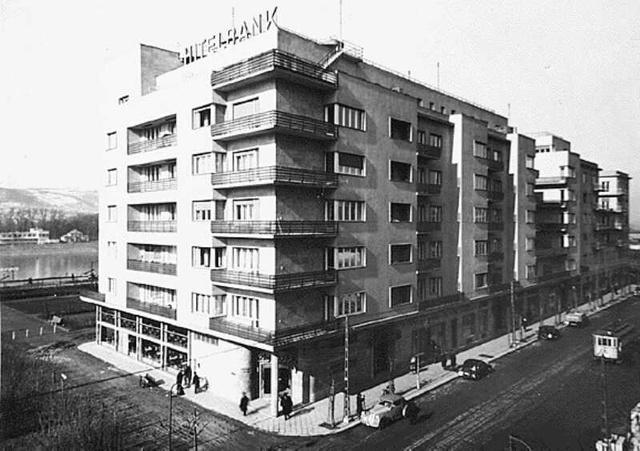 XIII. kerületi Dunapark ház.