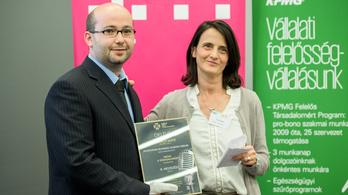 Média a Társadalomért díjat kapott az Index újságírója, Halmos Máté