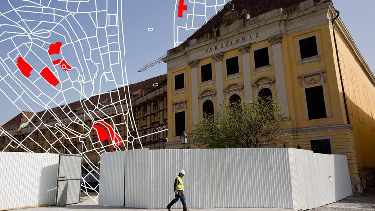 Így rajzolja át a budai várat Orbánék költözése