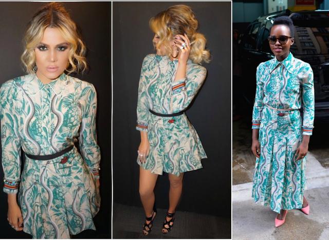 Egy (pontosabban két) ruha a Gucci idei tavaszi kollekciójából.