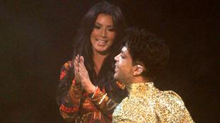 Így zavarta le Kim Kardashiant a színpadról Prince