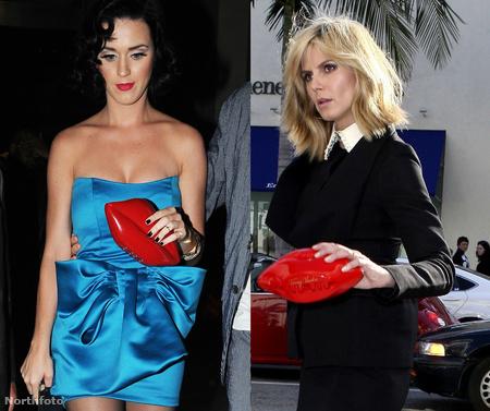 Katy Perry és Heidi Klum