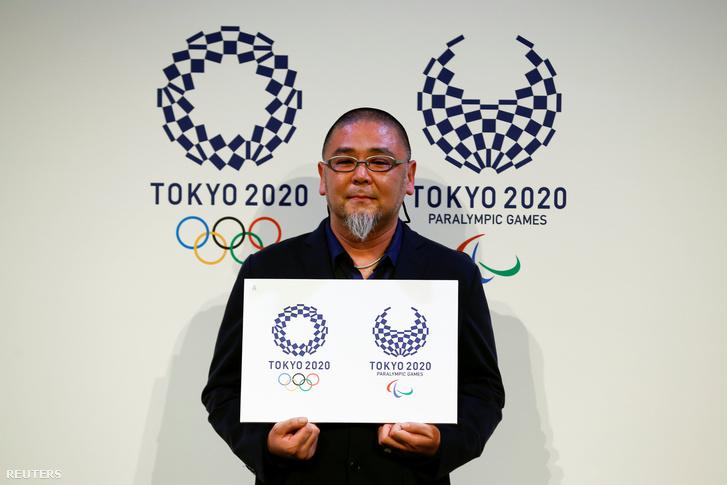 Aszao Tokolo, a 2020-as olimpia logójának tervezője
