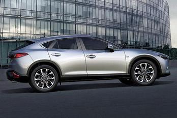 A Mazda is elkészült az első terep-kupéjával