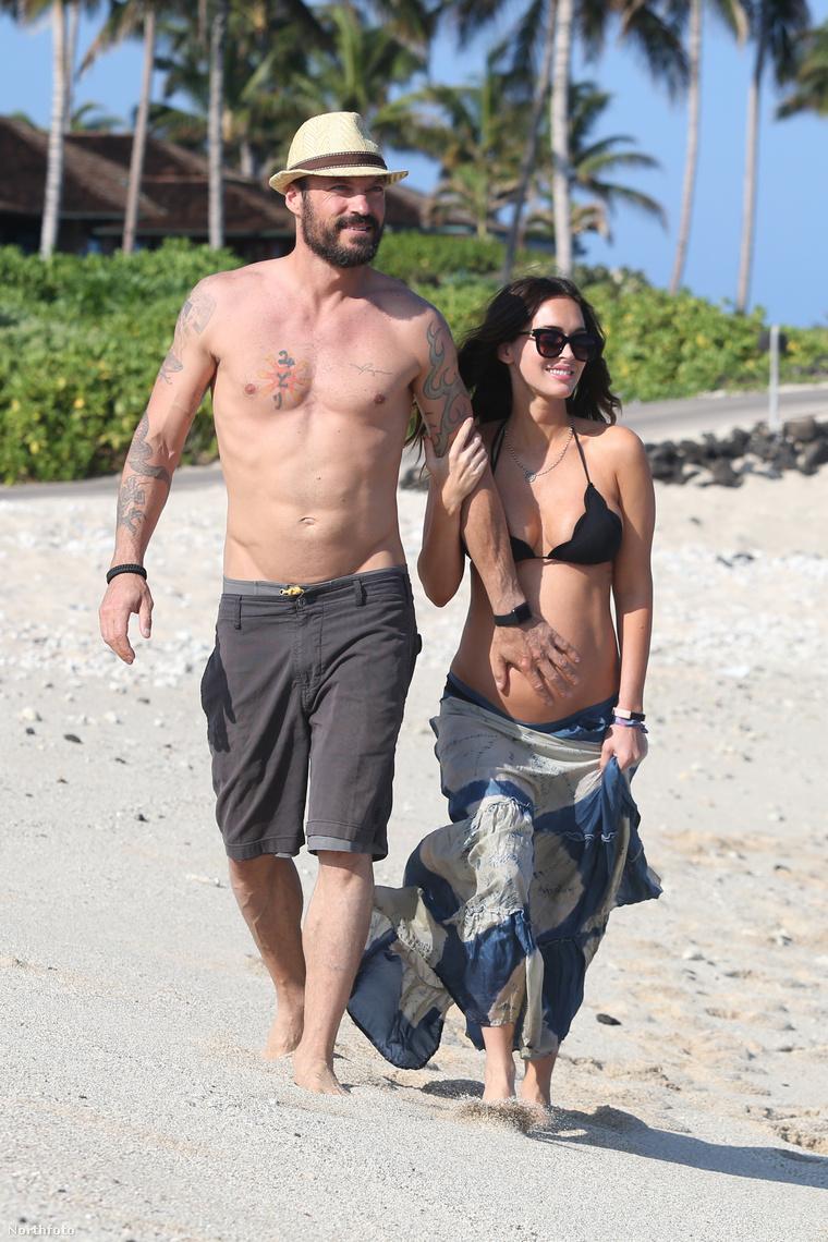 A Green-Fox színészházaspár úgy havajozik Hawaii-on, hogy nem látszik rajtuk, hogy tavaly még a válásukat taglalták az újságok