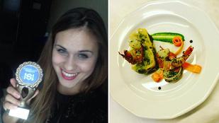Magyar diáklány nyert egy francia szakácsversenyen