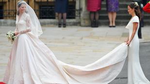 Perlik Kate Middleton esküvői ruhájának tervezőjét