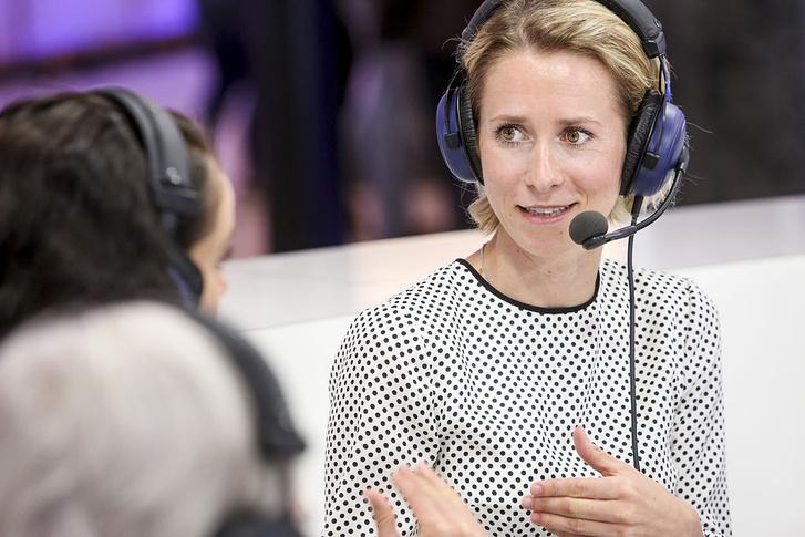 Kaja Kallas észt EP-képviselőnő.