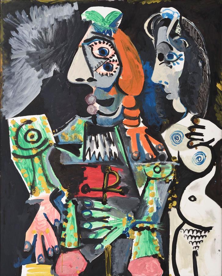 Pablo Picasso: Matador meztelen nővel, 1970