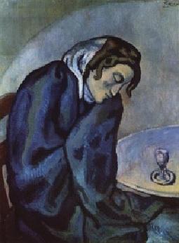 Pablo Picasso: Abszintivó, 1902