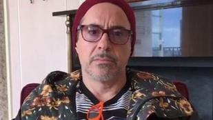 Robert Downey Jr-nál senki sem öltözik hülyébben