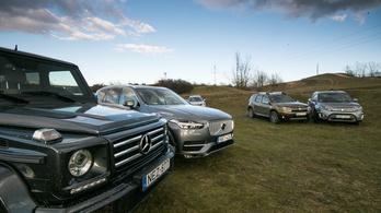 A nagy SUV-teszt