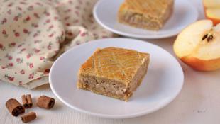 Süti bűntudat nélkül: reform almás pite