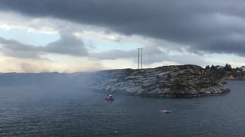 Súlyos helikopter-baleset Norvégiában