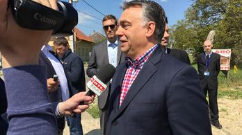 Orbán a felcsúti kisvasútról: Az országot építeni kell