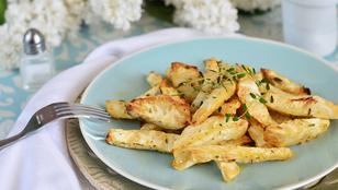 Bikiniszezon: krumpli helyett süssön zellert!