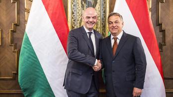 A FIFA sem túl bőbeszédű, ha az Orbánnal való megbeszélésről van szó
