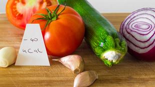 Negatív kalóriájú ételek márpedig nincsenek