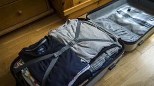 Tényleg több ruha fér a bőröndbe, ha rolnizzuk?