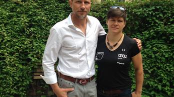 Miklós Edit tökös edzővel célozza meg az olimpiai aranyat