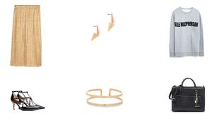 Heti kedvenc: az aranyszínű szoknya