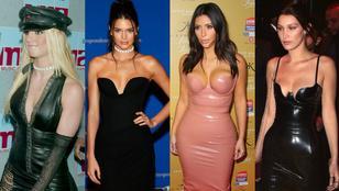 Spears 2002-es nyakéke és latexruha: kinek áll jobban?