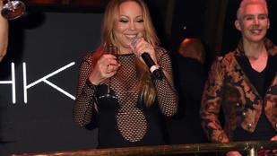 Mariah Carey bevásárlószatyorként mutogatta magát