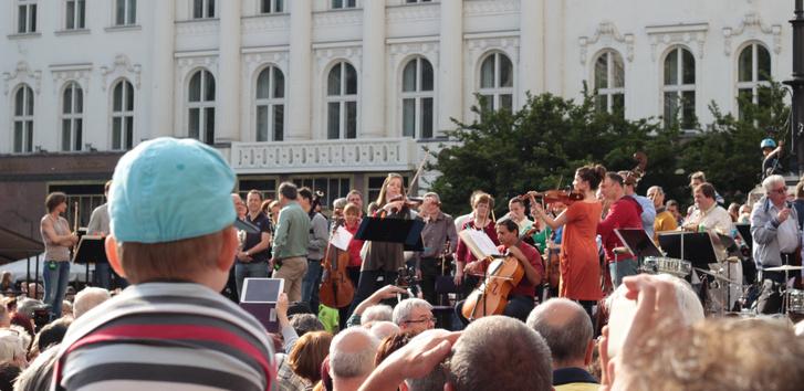 BFZ Flashmob - Vörösmarty tér