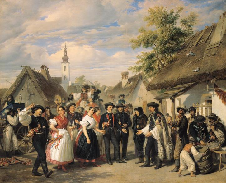 Barabás Miklós: A menyasszony megérkezése
