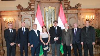 Orbán Viktor sportújságírókkal találkozott