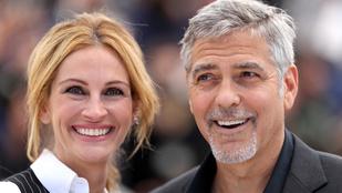 Julia Roberts és George Clooney nem tudnak leállni a hülyéskedéssel
