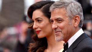 Milyen Brangelina? Clooney-ék Cannes csodapárja