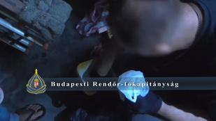 Videó: Lebukott a budapesti kristály-díler