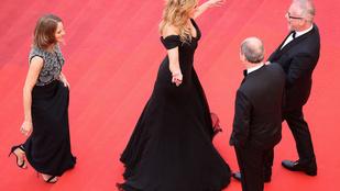 Julia Roberts olyat tett Cannes-ban, amit nagyon nem szokás