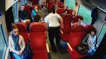 Mit csináljunk, ha egy száguldó vonaton azt látjuk, hogy a mozdonyvezető elrohan mellettünk?