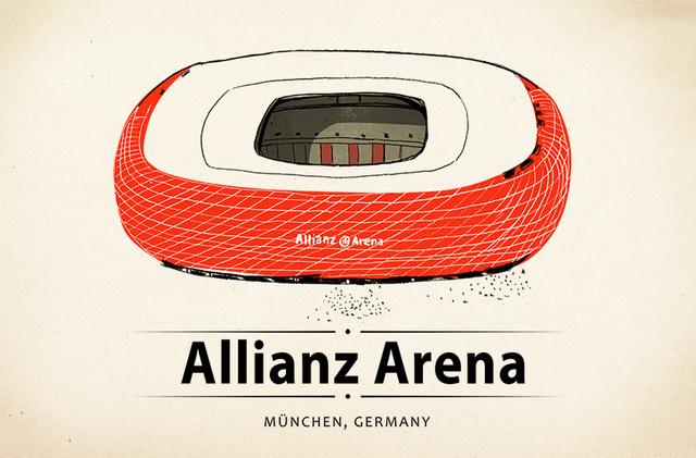 A kijelölt összegnek már majdnem a felét, 778 dollárt, 216, 715 forintot sikerült összegyűjtenie a Kickstarteren a budapesti illusztrátornak, Kovács Lehelnek, aki ezúttal a világ ikonikus sportpályáit dolgozta fel.
