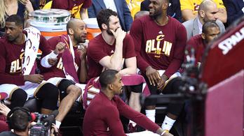 A Cleveland első lépése az NBA-döntő felé